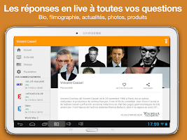 Screenshot of TiVipedia, la Télé Augmentée