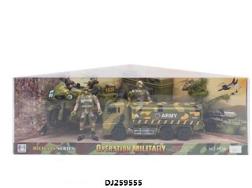 """Игровой набор серии """"Город Игр"""", """"Военные маневры - Грузовик M"""", арт. GN-7225/хаки"""