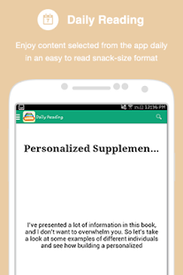 The Supplement Pyramid - screenshot