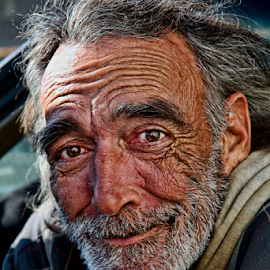 Wrinkles of Life by Gregory Cook - People Portraits of Men (  )