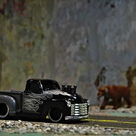 Muscle truck by Benjamin Howen III - Artistic Objects Toys ( car, pickup truck, die-cast, toy )