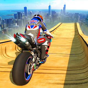 Vertical Mega Ramp Bike Stunt Racing For PC / Windows 7/8/10 / Mac – Free Download