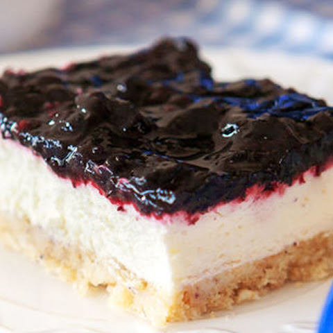 Blueberry Lemon Cheesecake Squares