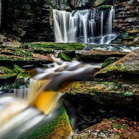 by Robert Golub - Uncategorized All Uncategorized ( waterfalls, west virginia, fall, blackwater state park )