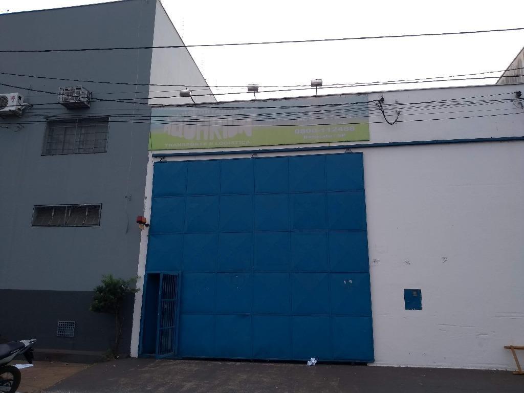 Galpão comercial para locação, Vila São Cristóvão, Uberaba - GA0040.