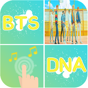 BTS DNA Piano