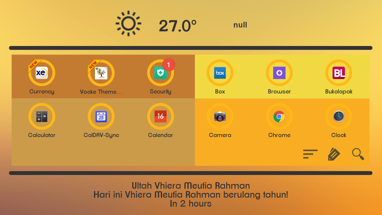 Grav Theme for Total Launcher Screenshot 2