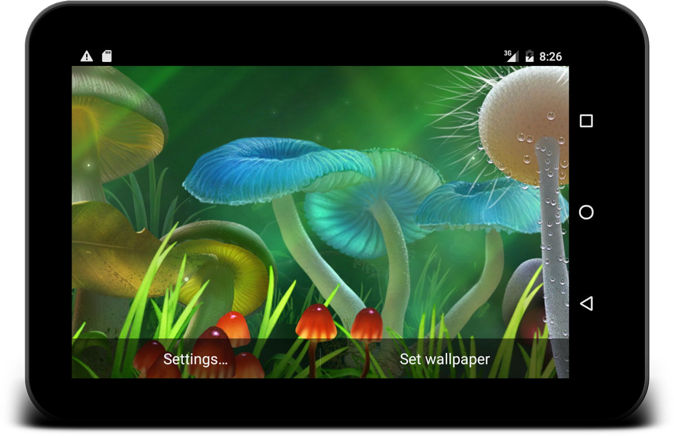 Nature live wallpaper Screenshot 8