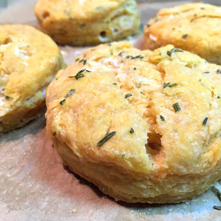 Thyme & Rosemary Sweet Potato Biscuits