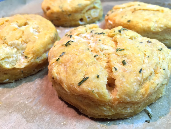 Thyme & Rosemary Sweet Potato Biscuits Recipe | Yummly