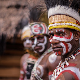 Asmat Tribe by Raffi Aulia - People Portraits of Men ( photographer, nikon, people, photography, portrait of men )
