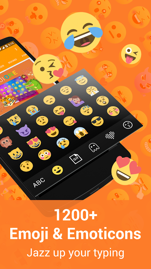 Kika Emoji Keyboard Pro + GIFs Screenshot 0