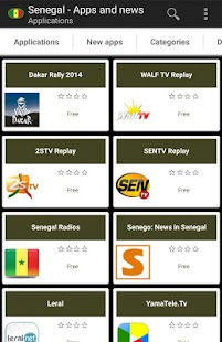 Senegalese apps - screenshot