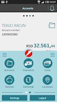 Screenshot of m-banking