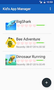 Kid's App Manager - screenshot