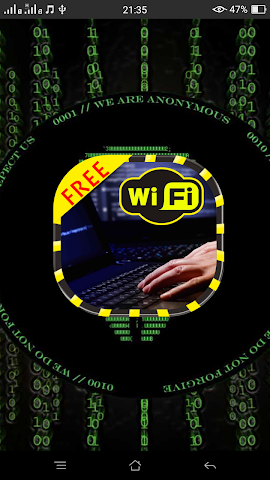 android WiFi Password Hacker Prank Fre Screenshot 5