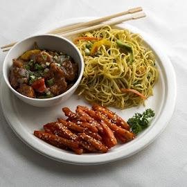 chow mean by Rana Samaddar - Food & Drink Plated Food