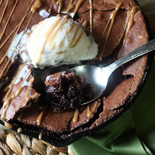 Espresso Liqueur Brownie Pudding