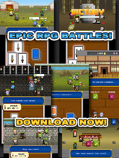 Random Knight Warriors Game - screenshot