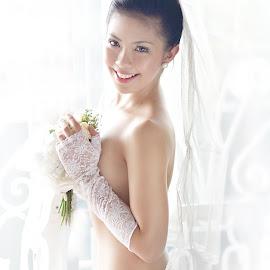 here comes the bride by Roj Miguel - Nudes & Boudoir Boudoir