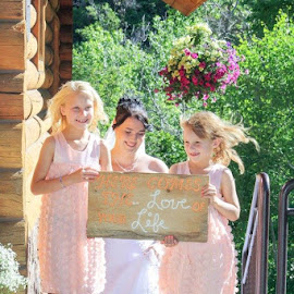 Up the aisle by Shanna L Christensen - Wedding Bride
