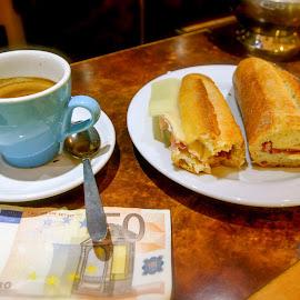 Paris Bistro by Skip Nelson - Food & Drink Plated Food ( paris, bistro, lunch, euro, espreso,  )