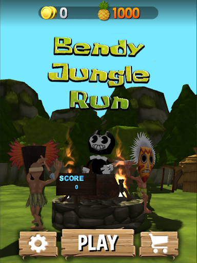 Subway Bendy Jungle Run : Ink Machine For PC