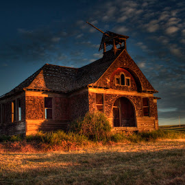 Govan School House by Dennis McClintock - Buildings & Architecture Decaying & Abandoned ( washington, school, old school house, abandoned )