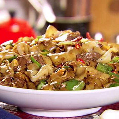Beef And Black Bean Ho Fun