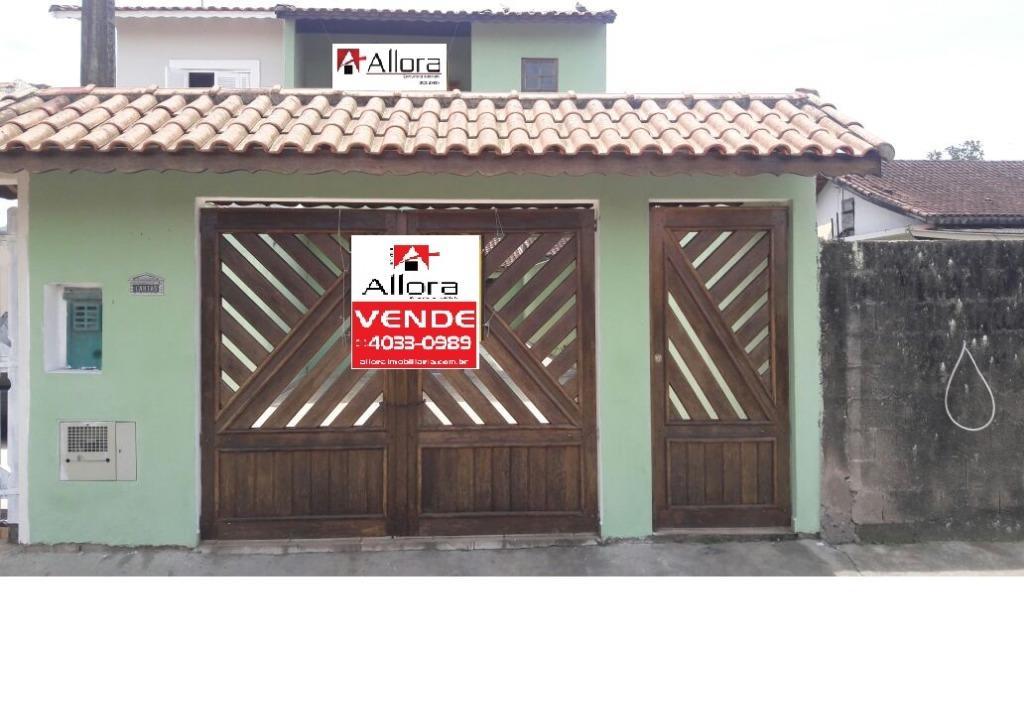 Sobrado com 2 dormitórios à venda, 108 m² por R$ 220.000 - Nossa Senhora Fátima - Mongaguá/SP