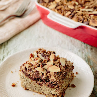 Chocolate Banana Crumb Cake