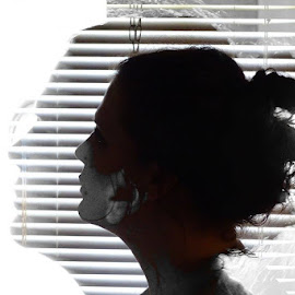 Silhoutte by Dave Walters - People Portraits of Women (  )