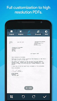 Quick PDF Scanner FREE APK screenshot thumbnail 2