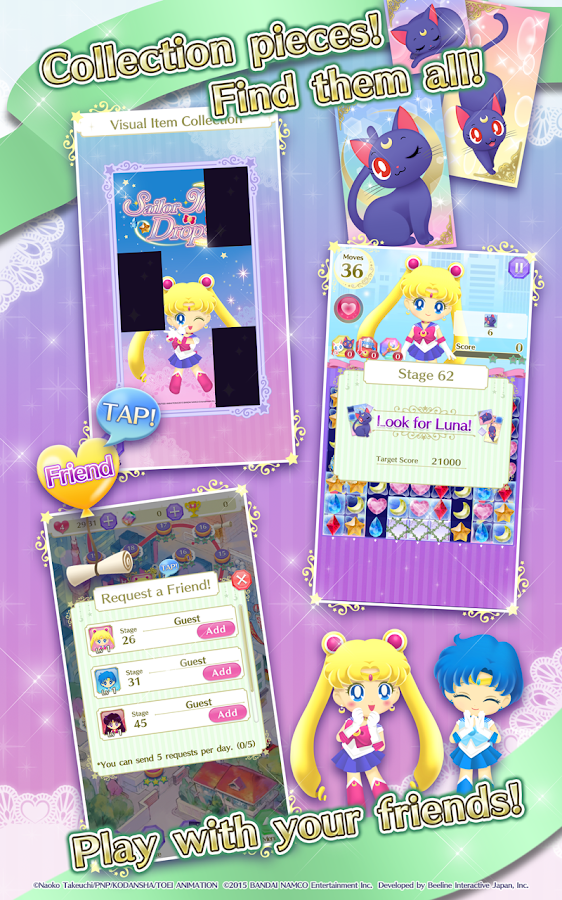 Sailor Moon Drops Screenshot 4