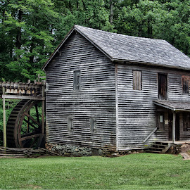 HM-2014 P7201658 by Ross Boyd - Buildings & Architecture Public & Historical ( mill, corn mill, water wheel, sc, historical )