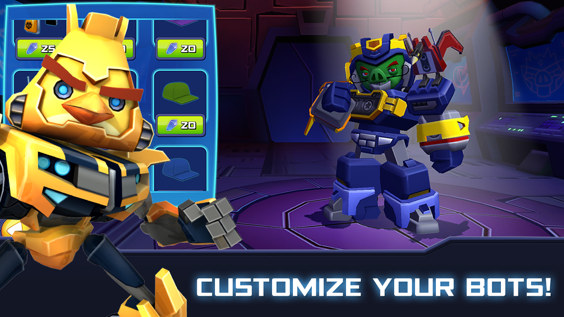 Angry Birds Transformers Screenshot 2