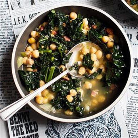 FUEL YOUR WINTER - Chickpea and Kale Soup