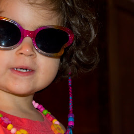 My super cool look by Paula NoGuerra - Babies & Children Toddlers ( child, girl, child photography, child portrait, childhood, toddler, sunglasses, portrait, kids portrait, kid )
