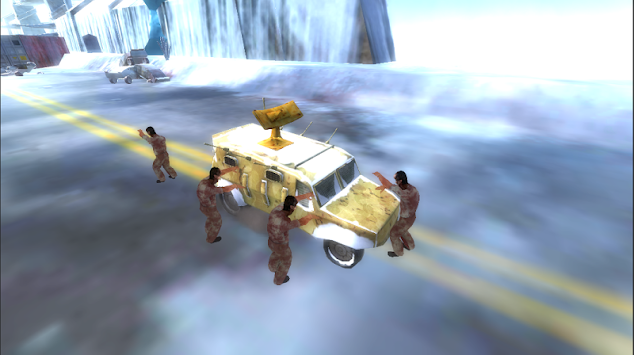Crazy Zombies Road Rash apk screenshot