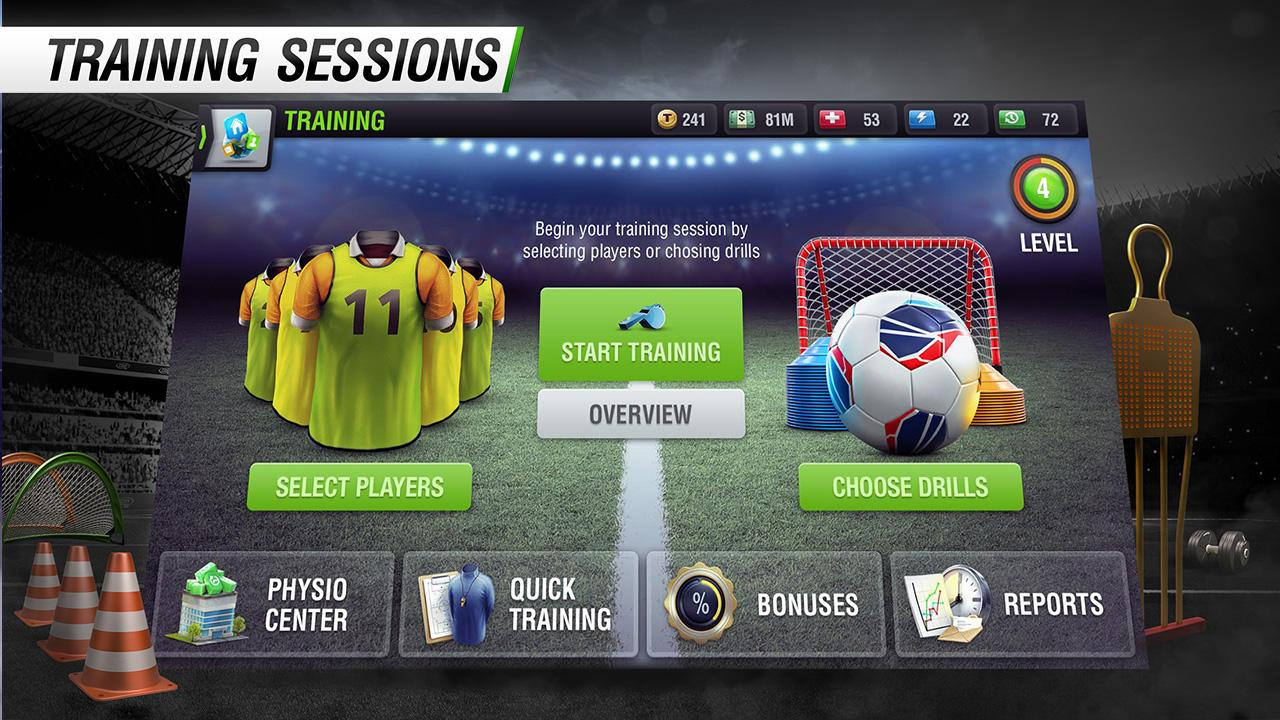Top Eleven Be a Soccer Manager Screenshot 1
