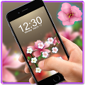 App Pink Flower AppLock Theme apk for kindle fire