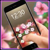 Download Pink Flower AppLock Theme APK