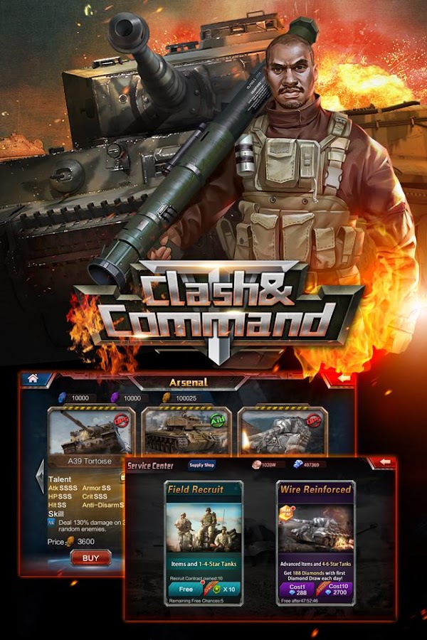 Clash & Command Screenshot 1