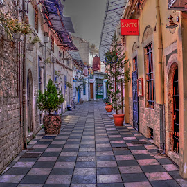 Ioannina by Stratos Lales - City,  Street & Park  Historic Districts ( market, ioannina, greece, historic, city )