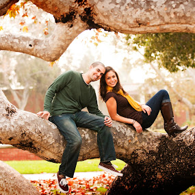 tree maze by Scott Nelson - People Couples
