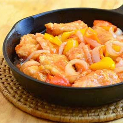 Fried Tilapia in Sweet and Sour Sauce