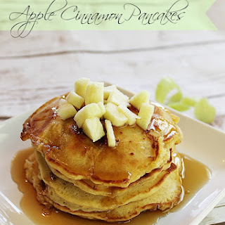 Melt In Your Mouth Apple Cinnamon Pancakes