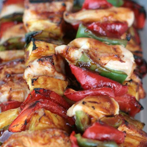Sweet BBQ Chicken Kabobs