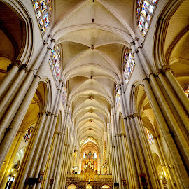 Toledo 5 by Iulia Breuer - Buildings & Architecture Places of Worship ( interior, church )