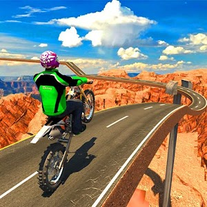 Fast Bike Racing Free Icon